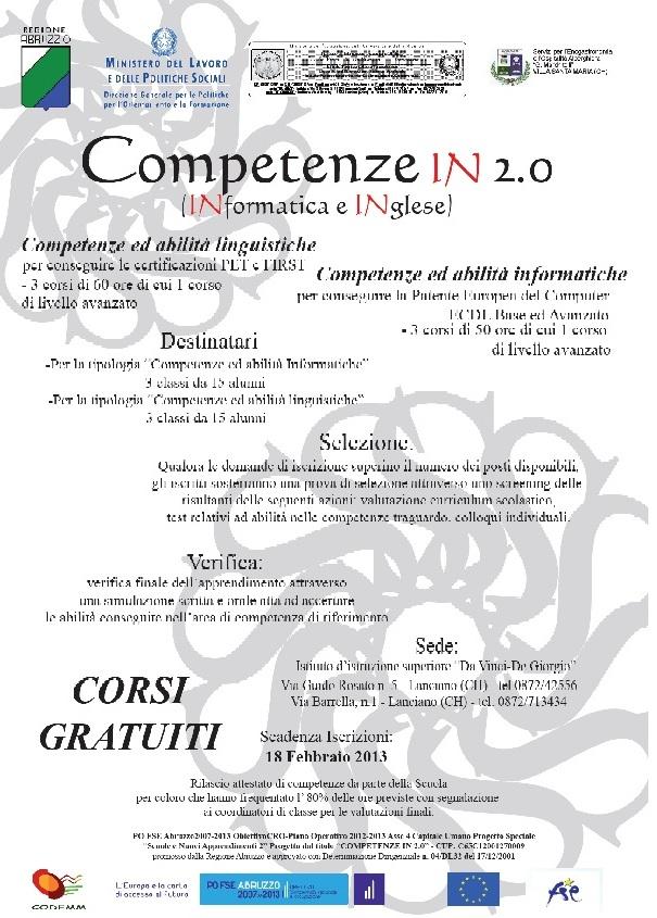 Manifesto Competenze In 2.0