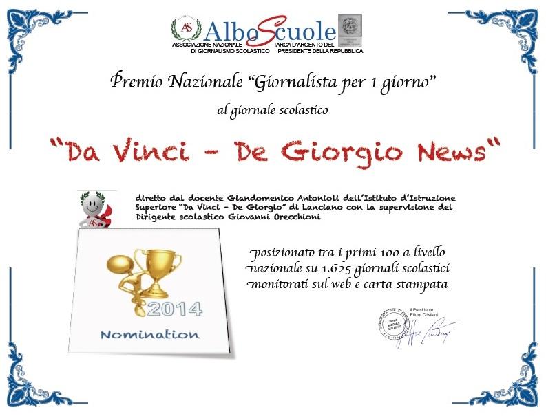 Nomination Albo Scuole